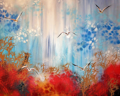 Afternoon On Sky 80x80cm